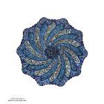 Enamel Minakari Plate - 16 cm