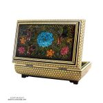 Khatam Box with Persian Miniature