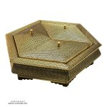 Premium Quality Large Triple Khatam Hexagon Candy & Nuts Decorative Dish