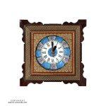 Khatam & Minakari Wall Clock - 20 cm