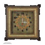 Full Khatam & Minakari Wall Clock - 25 cm