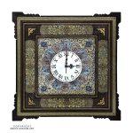 Khatam & Minakari Wall Clock - 30 cm