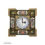 Basic Khatam & Minakari Wall Clock - 16 cm