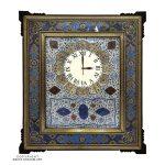 Premium Quality Khatam & Minakari Wall Clock - 50x40 cm